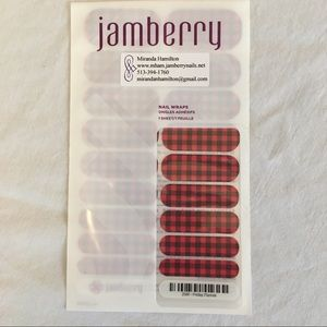 Jamberry Makeup - ✨ 'Friday Flannel' Jamberry Nail Wraps 💅